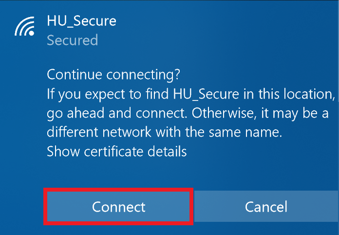 HU_Secure WIN Connect